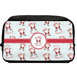 Santa Claus Toiletry Bag / Dopp Kit (Personalized)