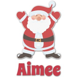 Santa Claus Graphic Decal - Custom Sizes (Personalized)