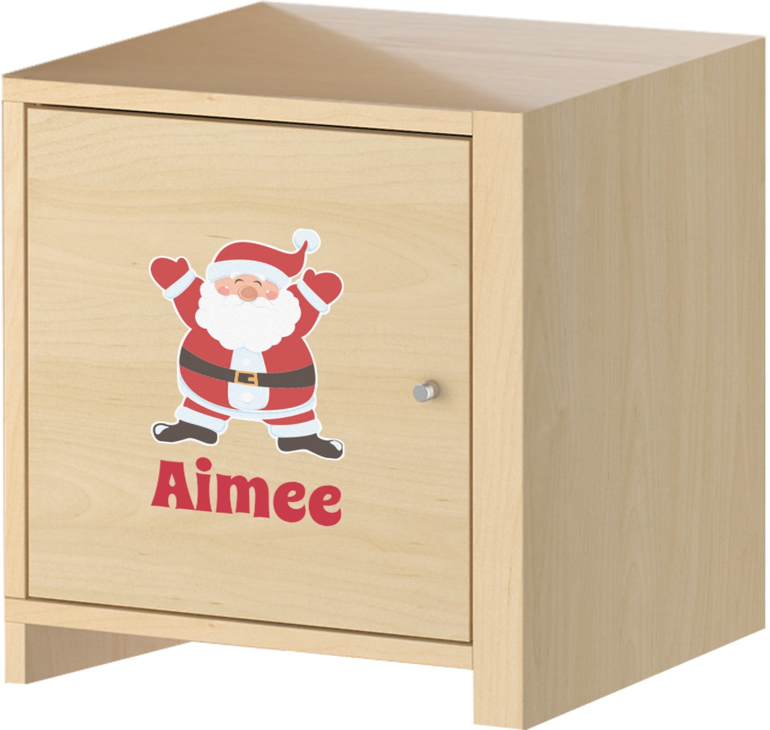 santa claus graphic decal custom sized personalized With kitchen cabinets lowes with santa claus wall art