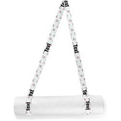 Santa Claus Yoga Mat Strap (Personalized)