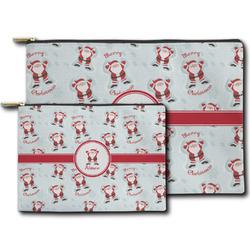 Santa Claus Zipper Pouch (Personalized)