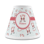 Santa Clause Making Snow Angels Chandelier Lamp Shade (Personalized)