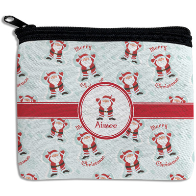 Santa Claus Rectangular Coin Purse (Personalized)