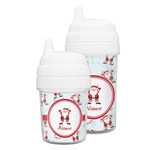 Santa Clause Making Snow Angels Sippy Cup (Personalized)
