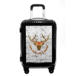 Floral Antler Carry On Hard Shell Suitcase (Personalized)