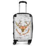 Floral Antler Suitcase (Personalized)