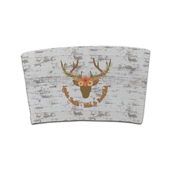 Floral Antler Coffee Cup Sleeve (Personalized)