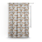 Floral Antler Curtain (Personalized)