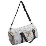 Floral Antler Duffel Bag (Personalized)