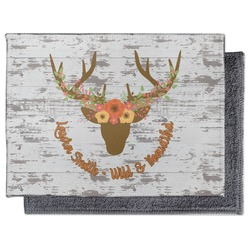 Floral Antler Microfiber Screen Cleaner (Personalized)