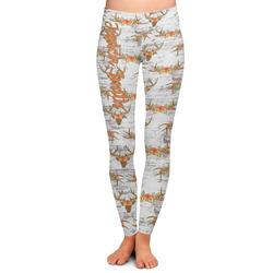 Floral Antler Ladies Leggings (Personalized)