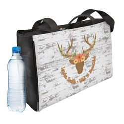 Floral Antler Ladies Workout Bag (Personalized)