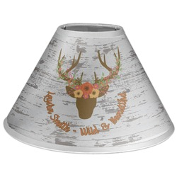 Floral Antler Coolie Lamp Shade (Personalized)