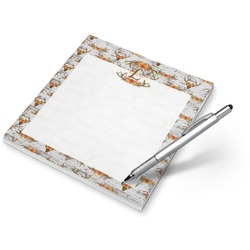 Floral Antler Notepad (Personalized)