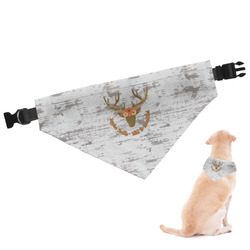 Floral Antler Dog Bandana - Large (Personalized)