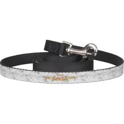 Floral Antler Pet / Dog Leash (Personalized)