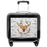 Floral Antler Pilot / Flight Suitcase (Personalized)
