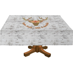 Floral Antler Tablecloth (Personalized)