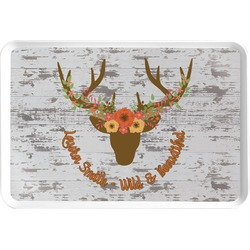 Floral Antler Serving Tray (Personalized)