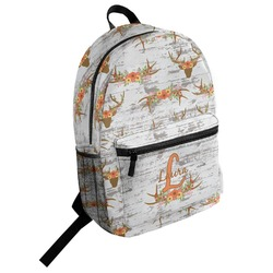 Floral Antler Student Backpack (Personalized)
