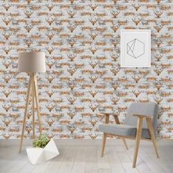 Floral Antler Wallpaper & Surface Covering