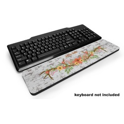 Floral Antler Keyboard Wrist Rest (Personalized)