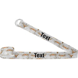 Floral Antler Yoga Strap (Personalized)