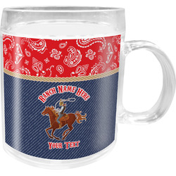 Western Ranch Acrylic Kids Mug (Personalized)