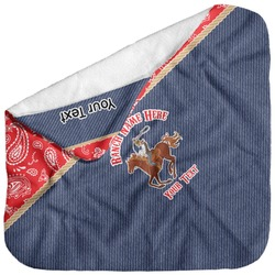 Western Ranch Baby Hooded Towel (Personalized)