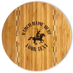 Western Ranch Bamboo Cutting Board (Personalized)