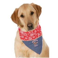 Western Ranch Pet Bandanas (Personalized)