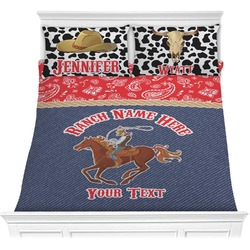 Western Ranch Comforters (Personalized)