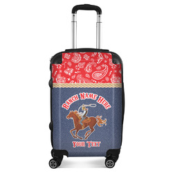 Western Ranch Suitcase (Personalized)