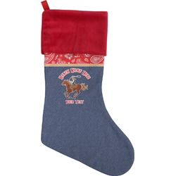 Western Ranch Christmas Stocking (Personalized)