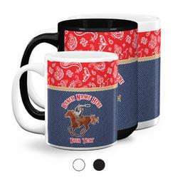 Western Ranch Coffee Mugs (Personalized)