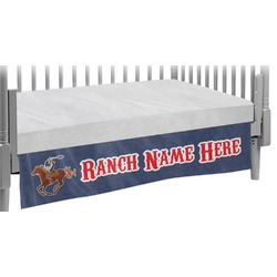 Western Ranch Crib Skirt (Personalized)