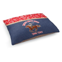 Western Ranch Dog Pillow Bed (Personalized)
