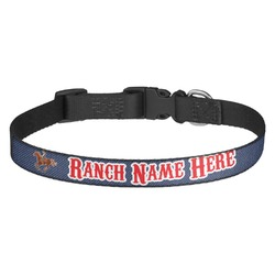 Western Ranch Dog Collar - Multiple Sizes (Personalized)