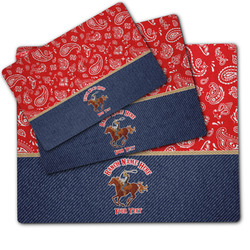 Western Ranch Dog Food Mat w/ Name or Text