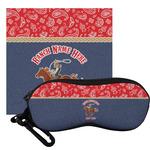 Western Ranch Eyeglass Case & Cloth (Personalized)