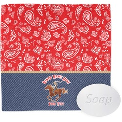 Western Ranch Wash Cloth (Personalized)