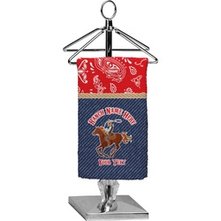 Western Ranch Finger Tip Towel - Full Print (Personalized)