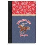 Western Ranch Genuine Leather Passport Cover (Personalized)
