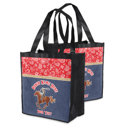 Western Ranch Grocery Bag (Personalized)