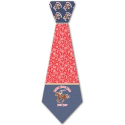 Western Ranch Iron On Tie (Personalized)