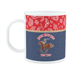 Western Ranch Plastic Kids Mug (Personalized)