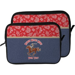 Western Ranch Laptop Sleeve / Case (Personalized)