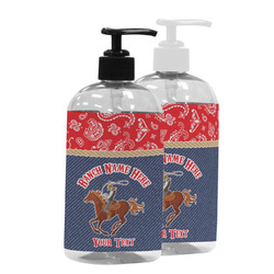 Western Ranch Plastic Soap / Lotion Dispenser (Personalized)