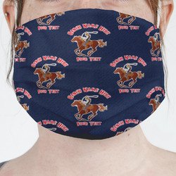 Western Ranch Face Mask Cover (Personalized)