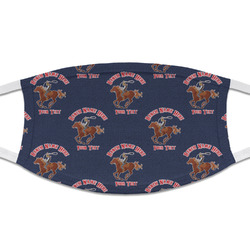 Western Ranch Cloth Face Mask (T-Shirt Fabric) (Personalized)